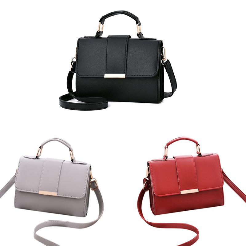 1X-Sommer-Mode-Frauen-Tasche-Handtaschen-PU-Umhaenge-Tasche-Kleine-Klappe-Kr-I6K4 Indexbild 9