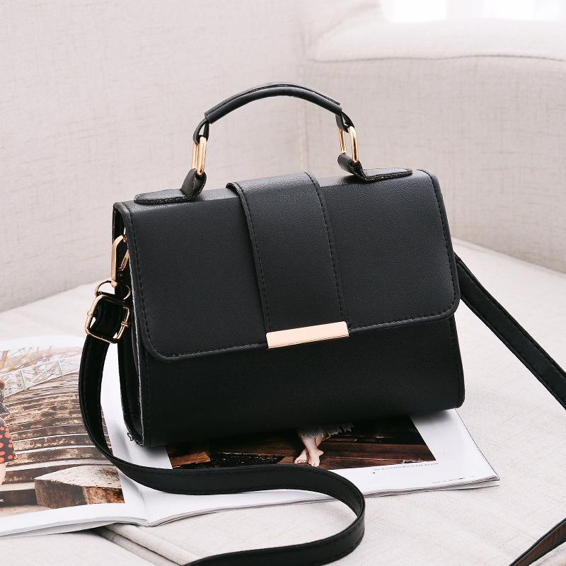 1X-Sommer-Mode-Frauen-Tasche-Handtaschen-PU-Umhaenge-Tasche-Kleine-Klappe-Kr-I6K4 Indexbild 11