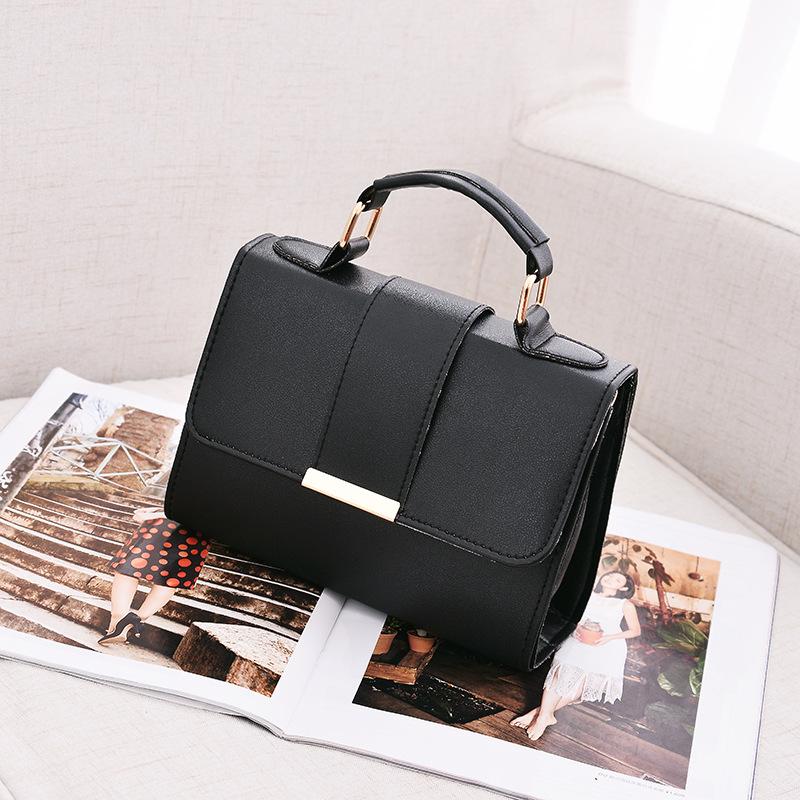 1X-Sommer-Mode-Frauen-Tasche-Handtaschen-PU-Umhaenge-Tasche-Kleine-Klappe-Kr-I6K4 Indexbild 12