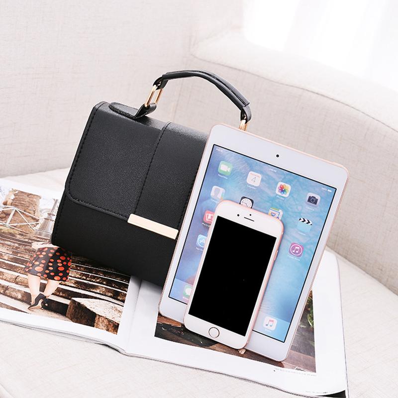 1X-Sommer-Mode-Frauen-Tasche-Handtaschen-PU-Umhaenge-Tasche-Kleine-Klappe-Kr-I6K4 Indexbild 13
