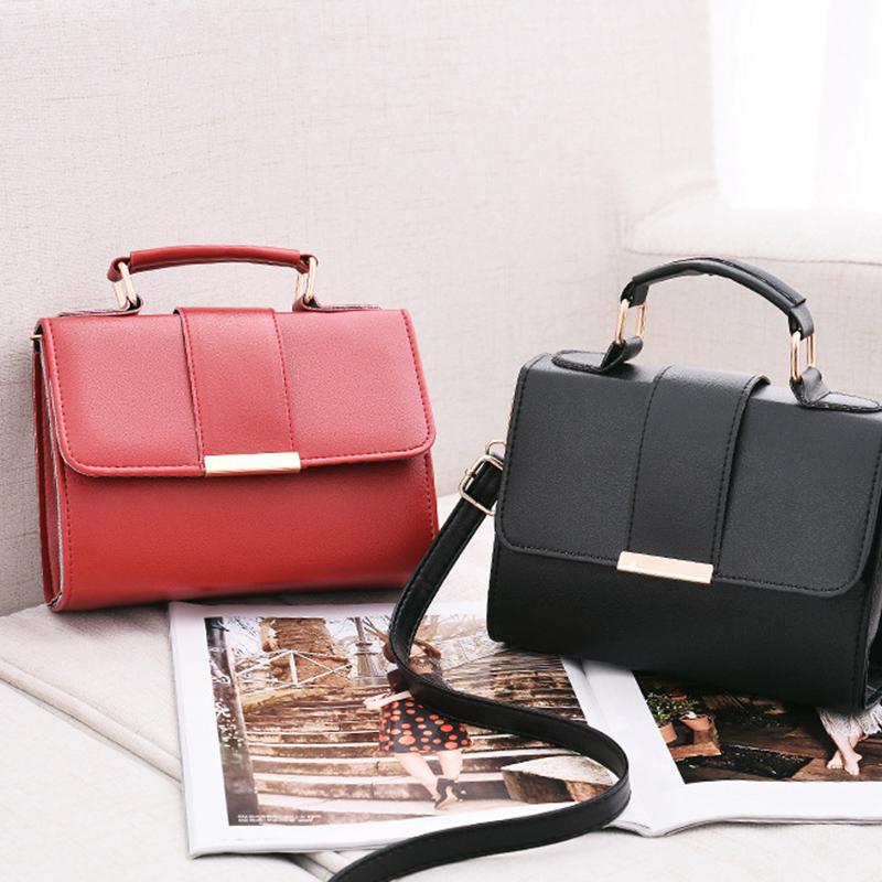 1X-Sommer-Mode-Frauen-Tasche-Handtaschen-PU-Umhaenge-Tasche-Kleine-Klappe-Kr-I6K4 Indexbild 18