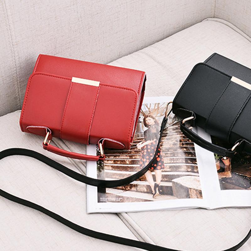 1X-Sommer-Mode-Frauen-Tasche-Handtaschen-PU-Umhaenge-Tasche-Kleine-Klappe-Kr-I6K4 Indexbild 19