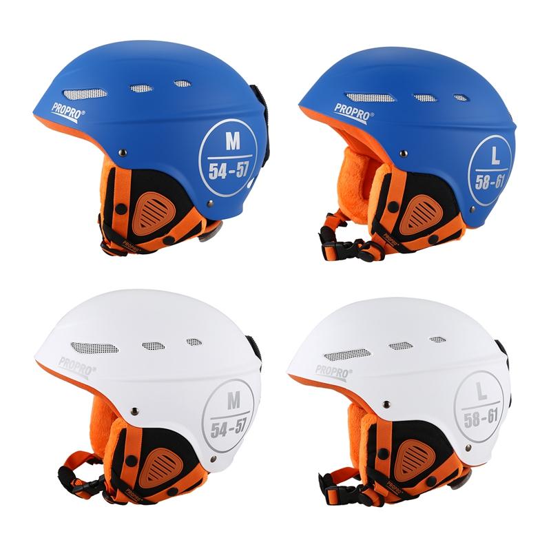 Propro-Ski-Helmet-Ultralight-Integrally-Molded-Adult-Warm-Helmet-Men-Women-N4L4 thumbnail 19