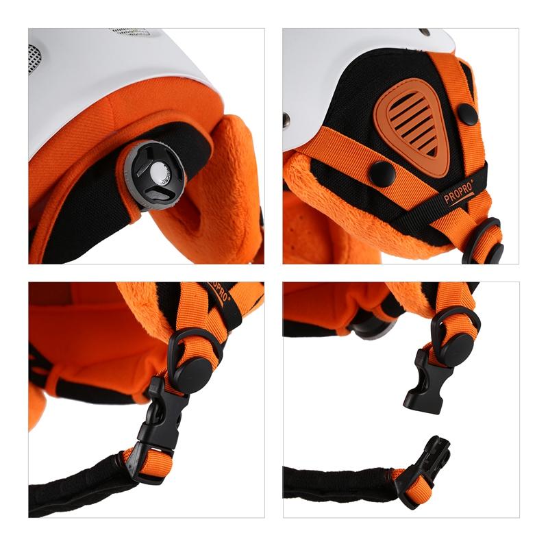 Propro-Ski-Helmet-Ultralight-Integrally-Molded-Adult-Warm-Helmet-Men-Women-N4L4 thumbnail 9
