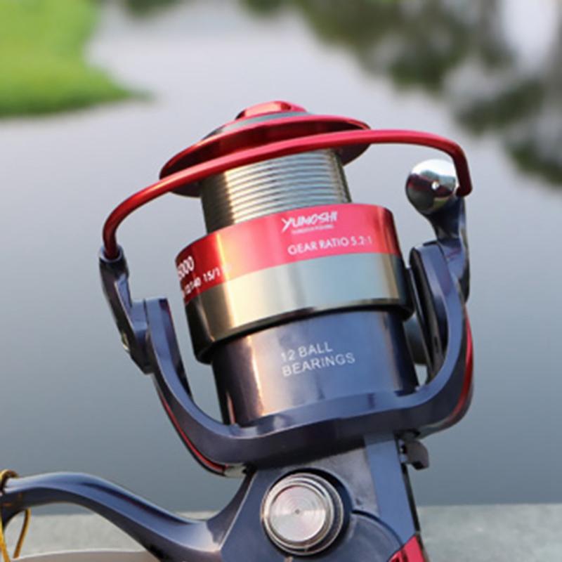 Yumoshi-Daiwa-Pesca-Golden-Reel-Spinning-Fishing-Reel-Fixed-Spool-Reel-Coil-M2L6 thumbnail 7
