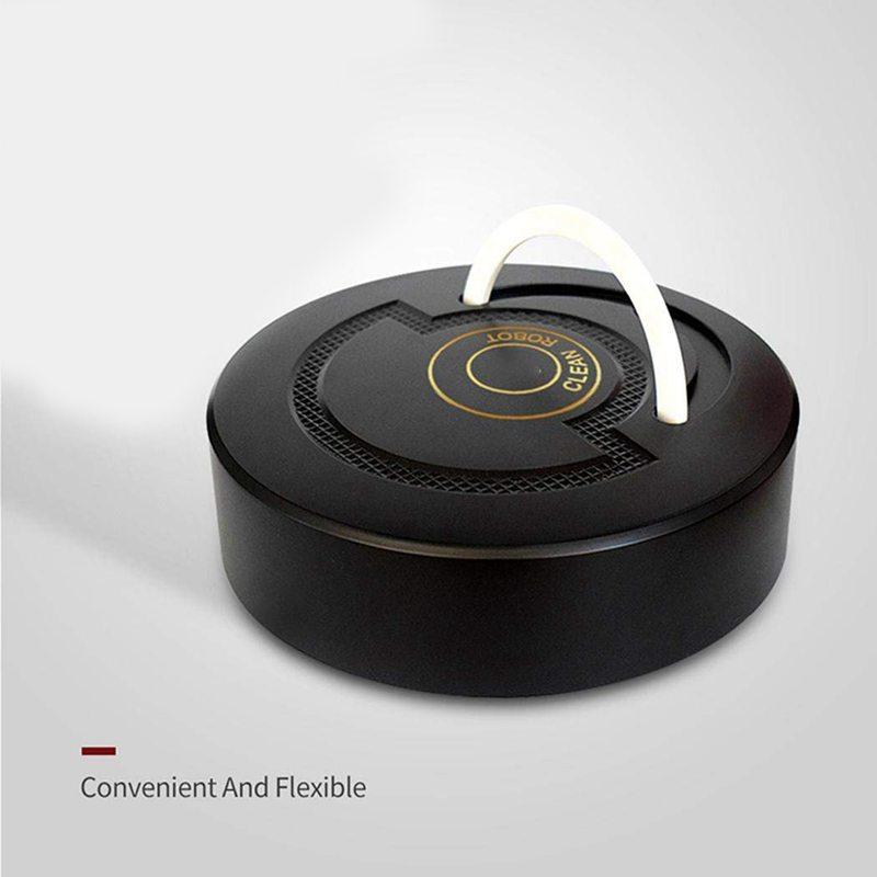 2X-Pro-Robotic-Vacuum-Rechargeable-Smart-Cleaning-Robot-Mini-Automatic-Indu9D8 thumbnail 3