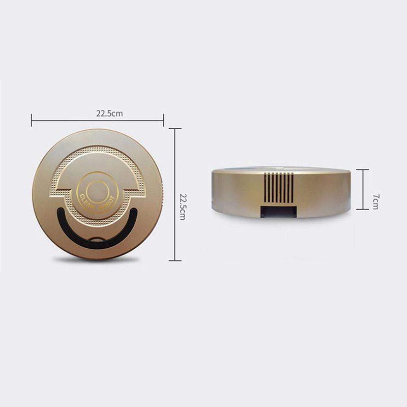 2X-Pro-Robotic-Vacuum-Rechargeable-Smart-Cleaning-Robot-Mini-Automatic-Indu9D8 thumbnail 4