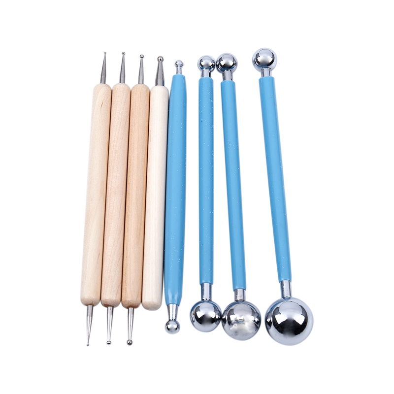8-Piece-Ball-Stylus-Dotting-Tools-for-Clay-Pottery-Ceramics-Doll-Modeling-D1G6