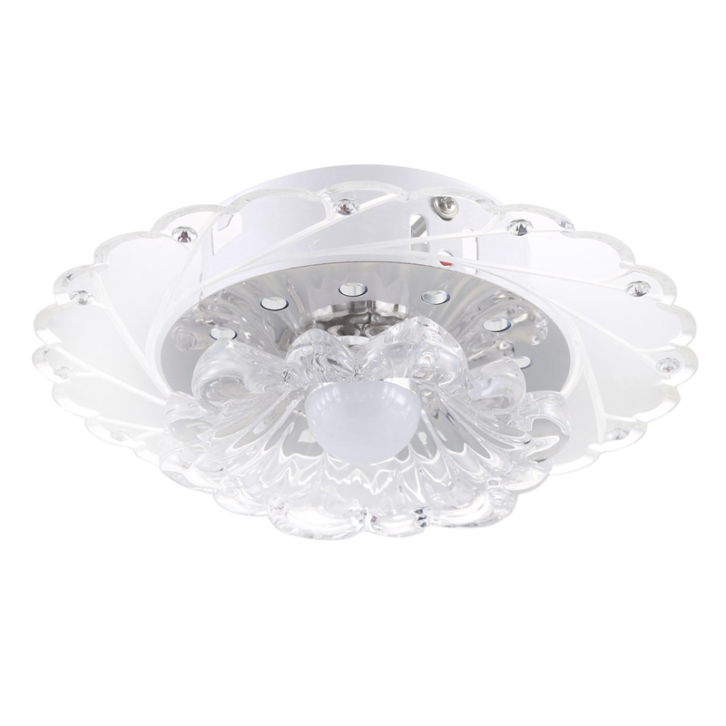 6X(Energy saving bright ceiling Lamp Chandelier Ceiling Light LED Crystal L S5Y2