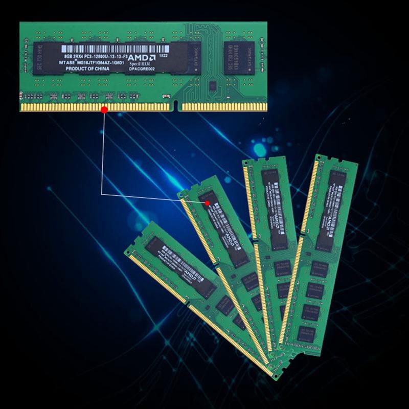 Mtase-Ddr3-1600Mhz-1-5V-240Pin-Desktop-Ram-Memory-For-Amd-Motherboard-J4D5 thumbnail 6
