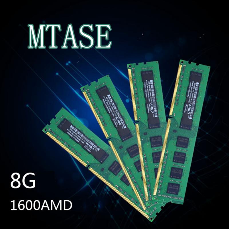 Mtase-Ddr3-1600Mhz-1-5V-240Pin-Desktop-Ram-Memory-For-Amd-Motherboard-J4D5 thumbnail 8