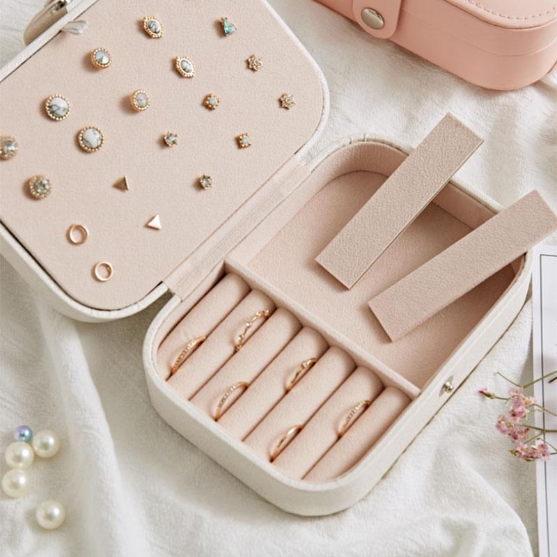 European-Pu-Leather-Jewelry-Boxes-Princess-Portable-Storage-Box-Multi-Layer-F2H2 thumbnail 5