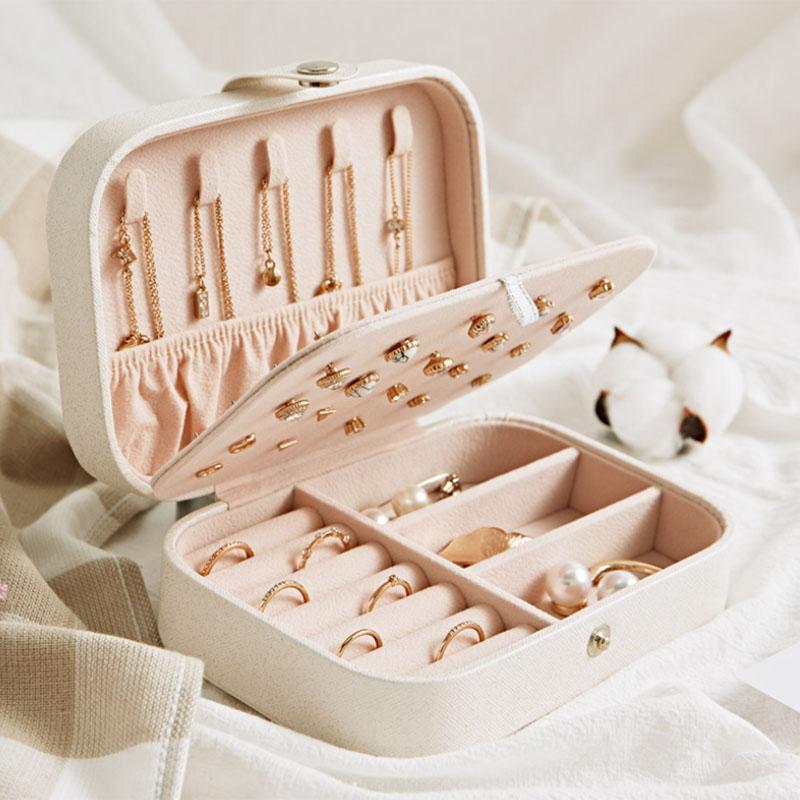 European-Pu-Leather-Jewelry-Boxes-Princess-Portable-Storage-Box-Multi-Layer-F2H2 thumbnail 14