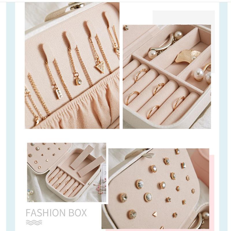 European-Pu-Leather-Jewelry-Boxes-Princess-Portable-Storage-Box-Multi-Layer-F2H2 thumbnail 17