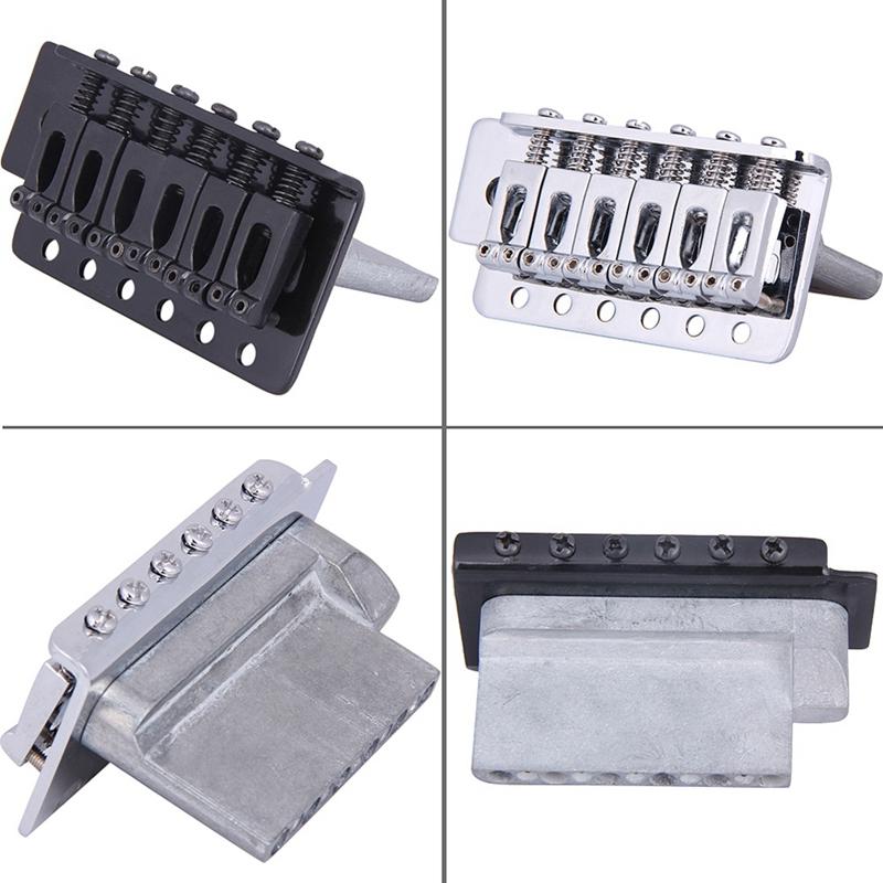 New-Replacement-Standard-Tremolo-Bridge-Set-For-Strat-Electric-Guitar-Parts-R1C3 thumbnail 6