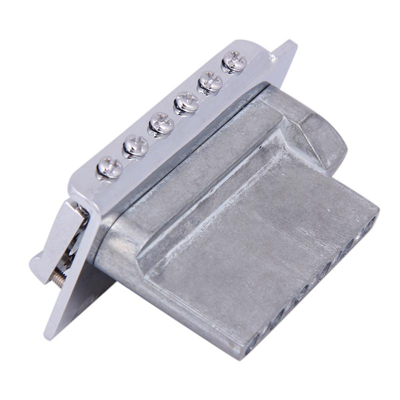 New-Replacement-Standard-Tremolo-Bridge-Set-For-Strat-Electric-Guitar-Parts-R1C3 thumbnail 11