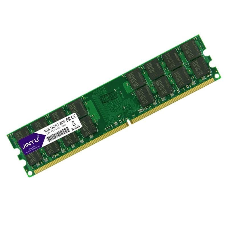 Jinyu-Ddr2-2G-800Mhz-1-8V-240Pin-Desktop-Ram-Speicher-Fuer-Amd-Motherboard-K7T2 Indexbild 4