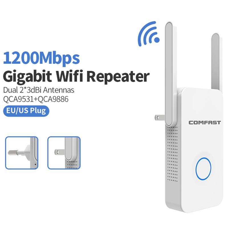 ซื้อ Comfast Cf-Wr752Ac 1200Mbps Wireless Wifi Repeater Wifi