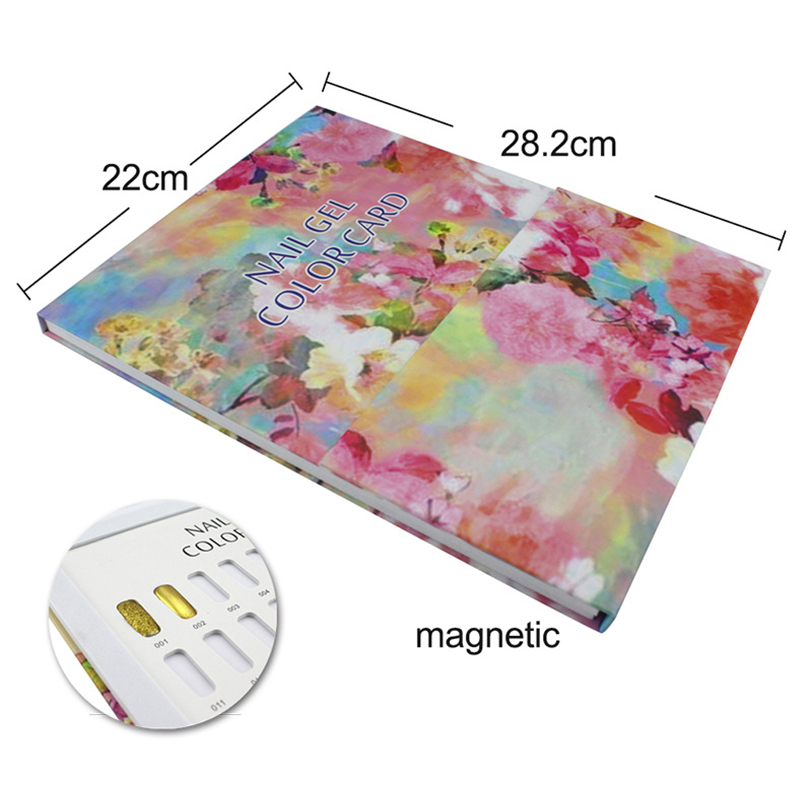 5X-False-Nail-Color-Book-Color-Display-Nail-Art-Gel-Polish-Color-Card-Nail-Col-T miniature 12