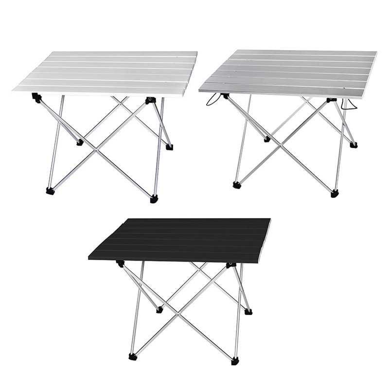 5X(Portable Table Foldable Hiking Table Picnic Table Ultralight Outdoor Fol S8D5