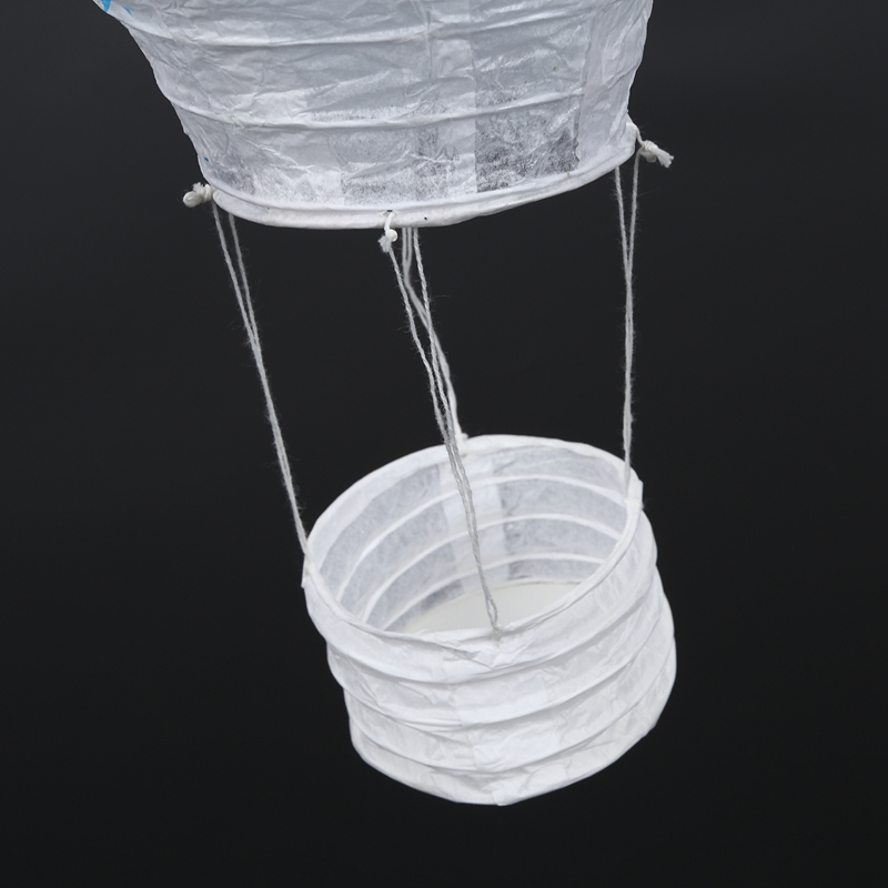 12inch-Hot-Air-Balloon-Paper-Lantern-Lampshade-Ceiling-Light-Wedding-Party-Y5A7 thumbnail 5