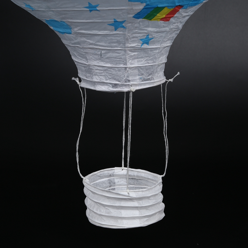 12inch-Hot-Air-Balloon-Paper-Lantern-Lampshade-Ceiling-Light-Wedding-Party-Y5A7 thumbnail 8