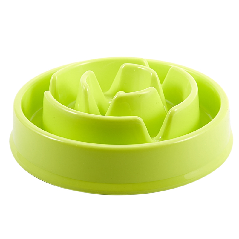 10XDish Bowl for Dog Cat Bowl to Slow Eat Resistant to Heat B2R1