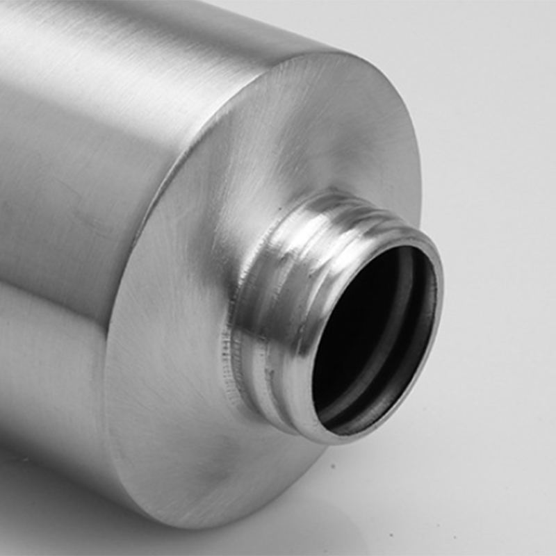 Edelstahl-Essig-Ol-Flasche-Leck-Nach-Hause-Beweis-A-Spender-Kochen-Silber-N8J5 Indexbild 9