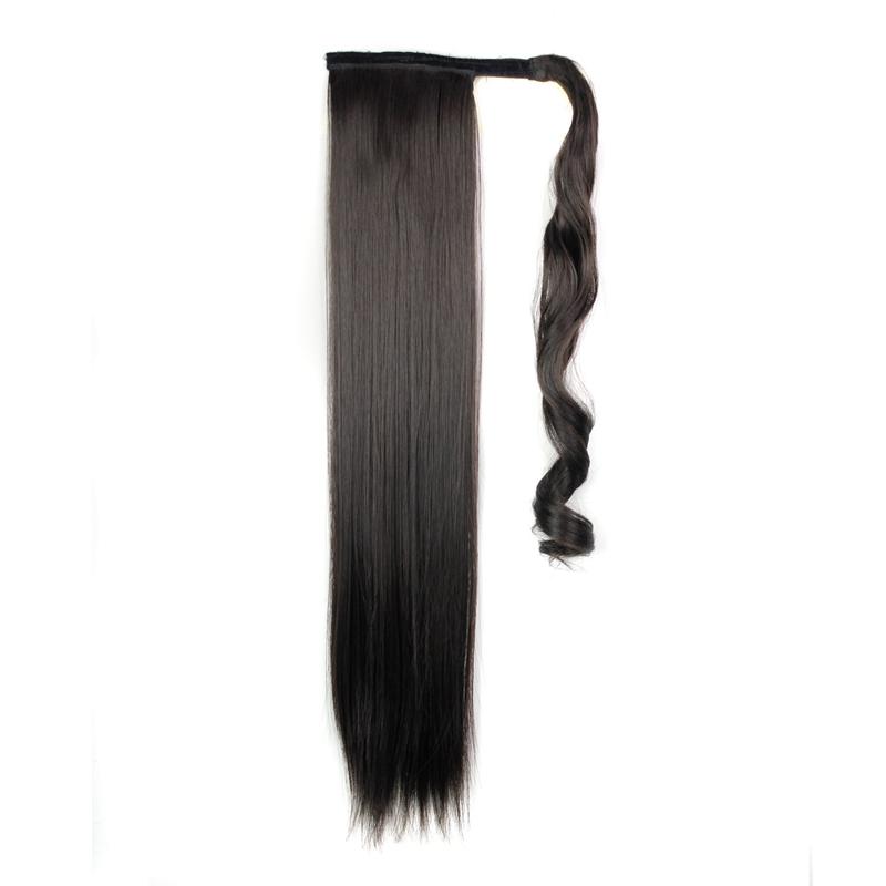 Extension-De-Cheveux-Queue-De-Cheval-Postiche-Queue-SynthETique-Longue-Ligne-7V7 miniature 9