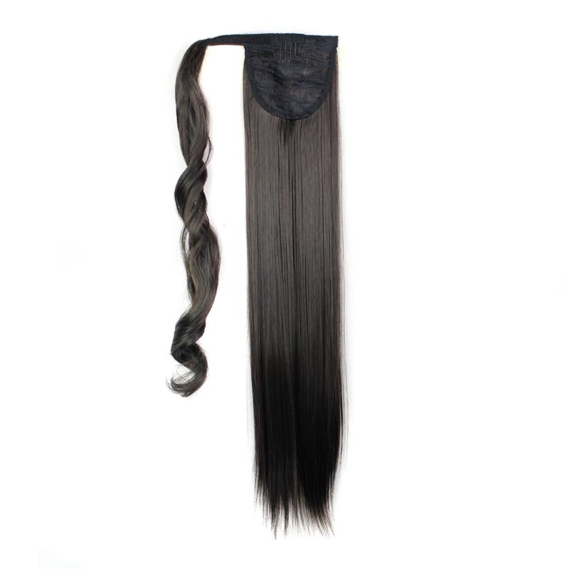 Extension-De-Cheveux-Queue-De-Cheval-Postiche-Queue-SynthETique-Longue-Ligne-7V7 miniature 10
