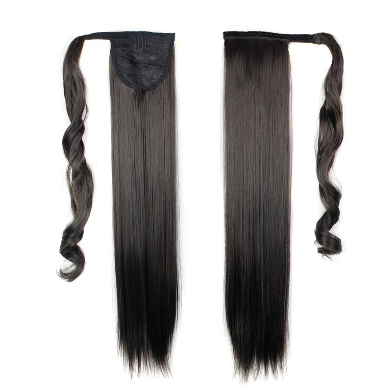 Extension-De-Cheveux-Queue-De-Cheval-Postiche-Queue-SynthETique-Longue-Ligne-7V7 miniature 12