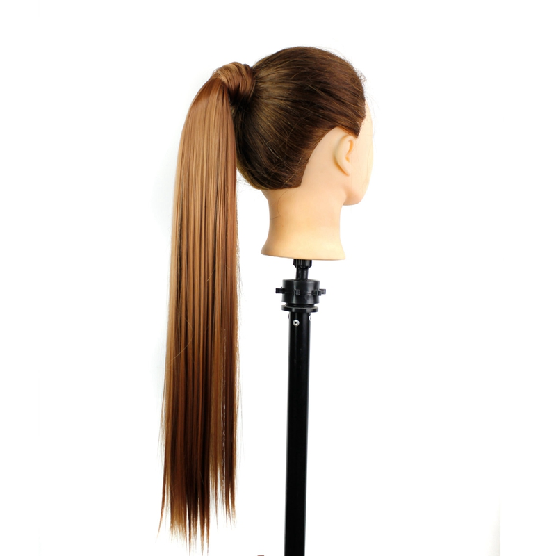 1X-Extension-De-Cheveux-Queue-De-Cheval-Postiche-Queue-SynthETique-Longue-Li-hu2 miniature 7