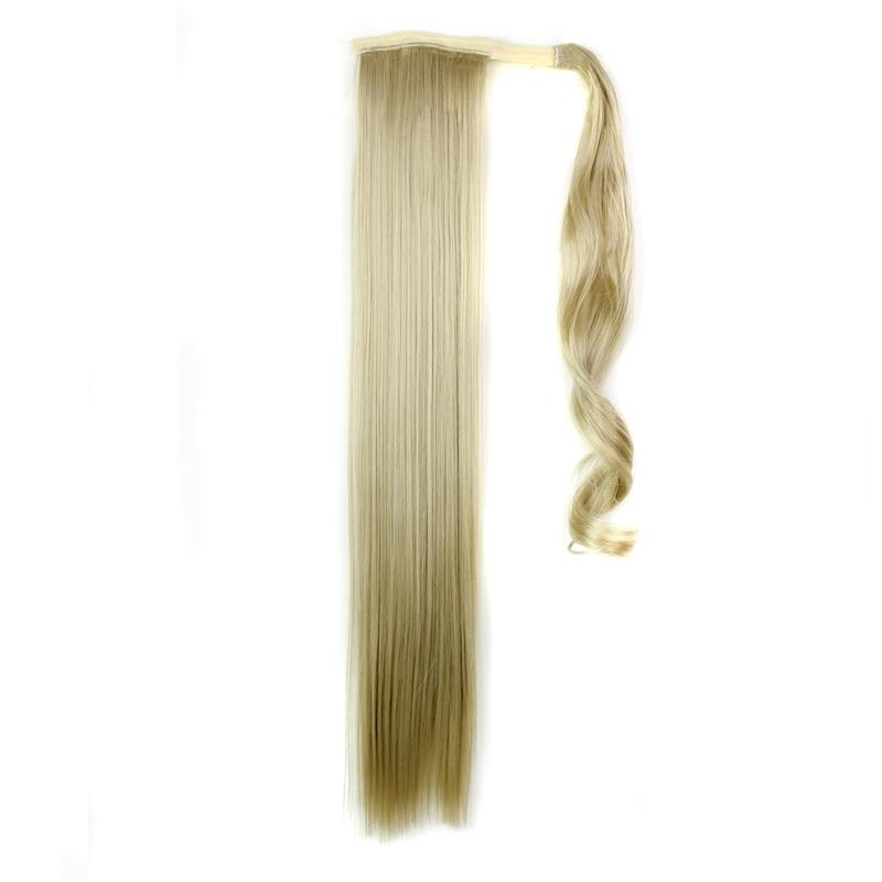 Extension-De-Cheveux-Queue-De-Cheval-Postiche-Queue-SynthETique-Longue-T4G2 miniature 3