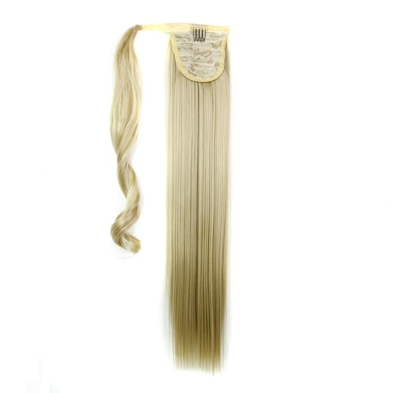 Extension-De-Cheveux-Queue-De-Cheval-Postiche-Queue-SynthETique-Longue-T4G2 miniature 4