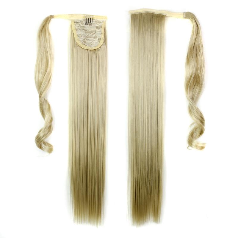 Extension-De-Cheveux-Queue-De-Cheval-Postiche-Queue-SynthETique-Longue-T4G2 miniature 6