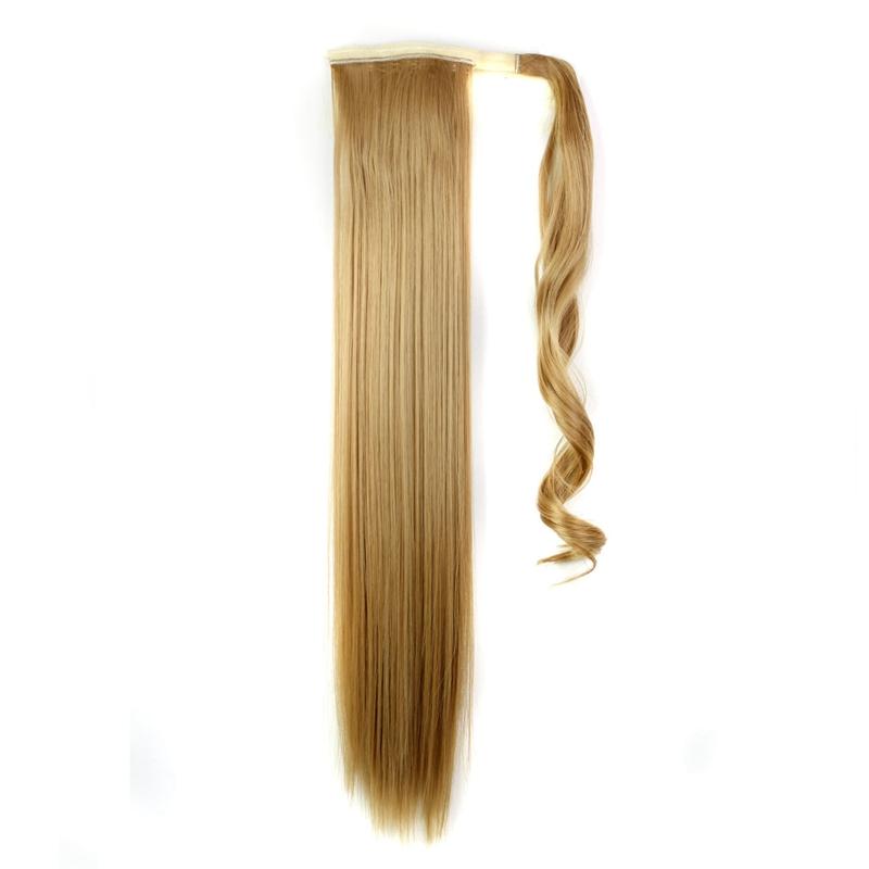Extension-De-Cheveux-Queue-De-Cheval-Postiche-Queue-SynthETique-Longue-T4G2 miniature 9
