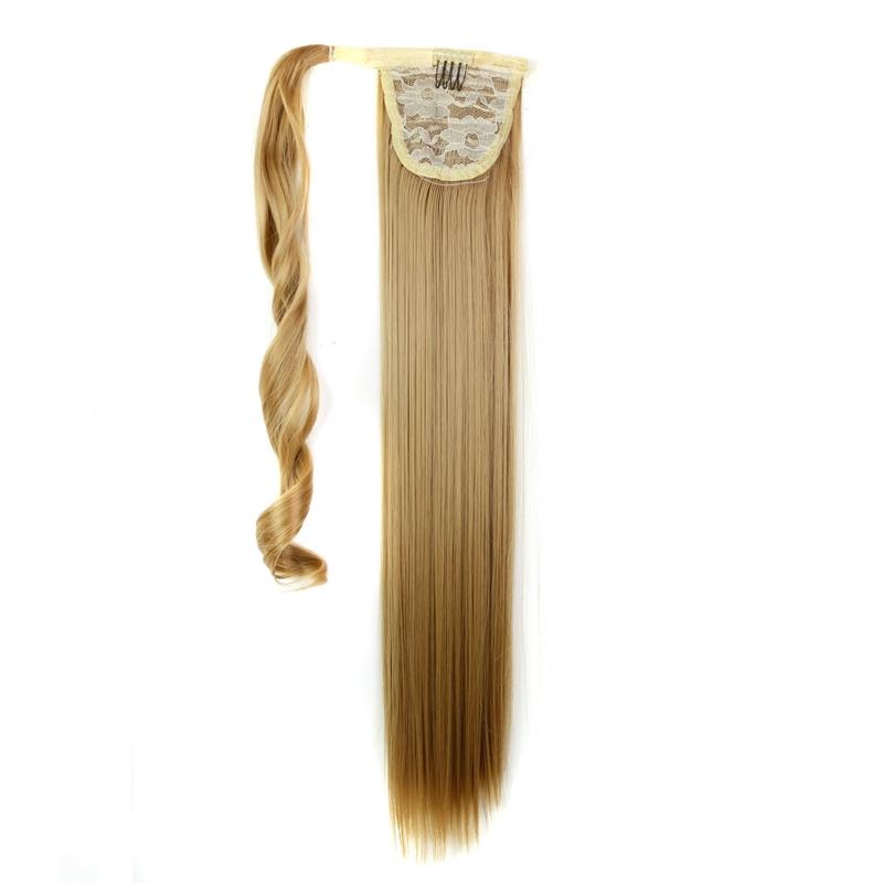 Extension-De-Cheveux-Queue-De-Cheval-Postiche-Queue-SynthETique-Longue-T4G2 miniature 10