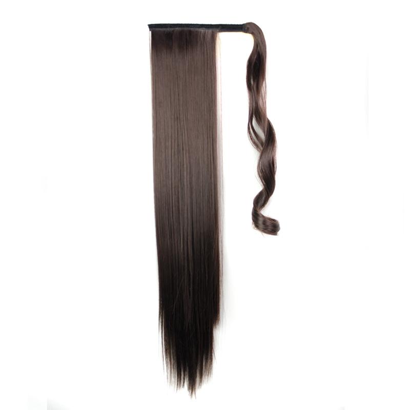 Extension-De-Cheveux-Queue-De-Cheval-Postiche-Queue-SynthETique-Longue-T4G2 miniature 15