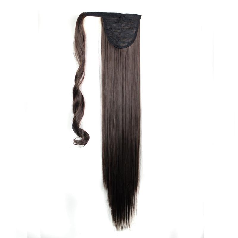 Extension-De-Cheveux-Queue-De-Cheval-Postiche-Queue-SynthETique-Longue-T4G2 miniature 16