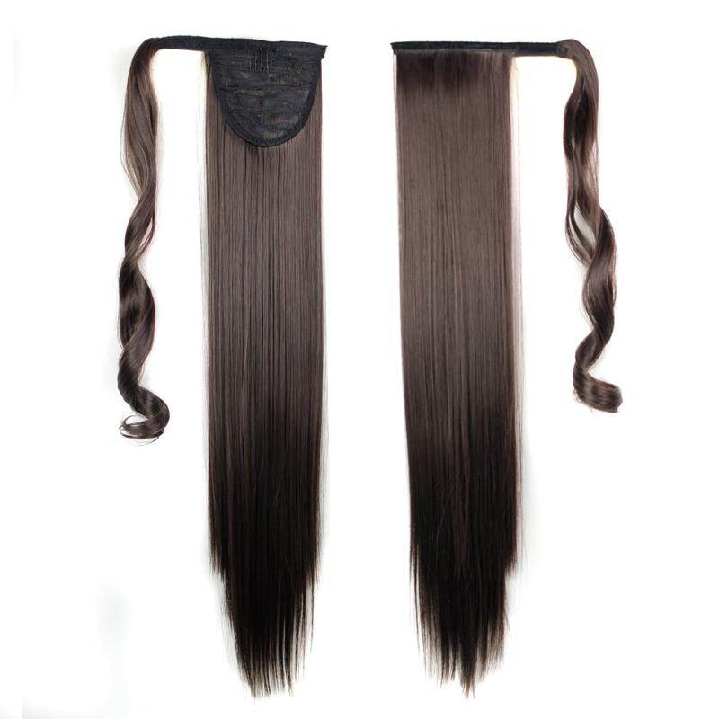 Extension-De-Cheveux-Queue-De-Cheval-Postiche-Queue-SynthETique-Longue-T4G2 miniature 18