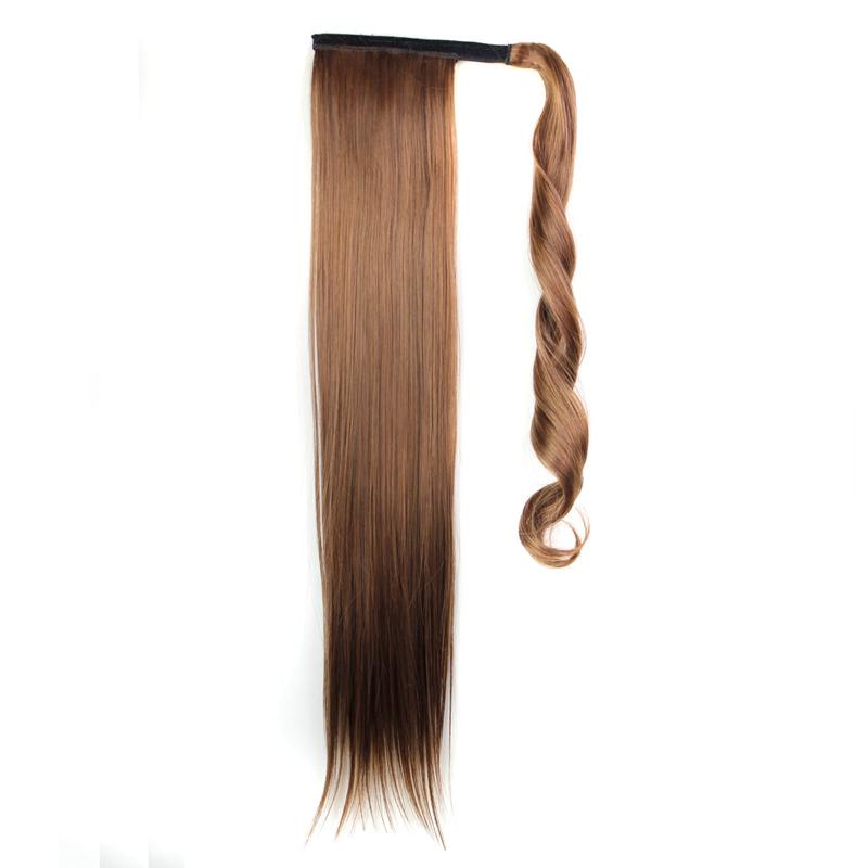 Extension-De-Cheveux-Queue-De-Cheval-Postiche-Queue-SynthETique-Longue-Ligne-7V7 miniature 57