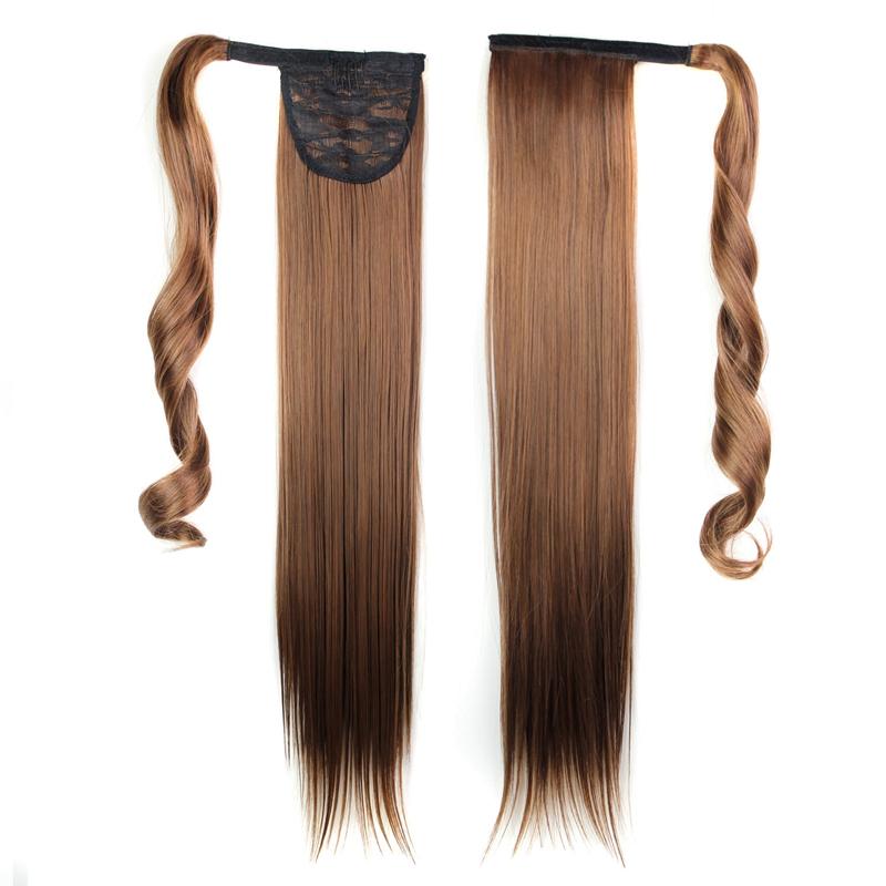 Extension-De-Cheveux-Queue-De-Cheval-Postiche-Queue-SynthETique-Longue-Ligne-7V7 miniature 60