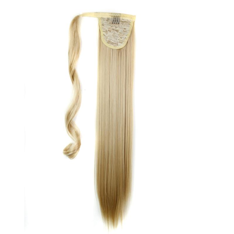 Extension-De-Cheveux-Queue-De-Cheval-Postiche-Queue-SynthETique-Longue-Ligne-7V7 miniature 76
