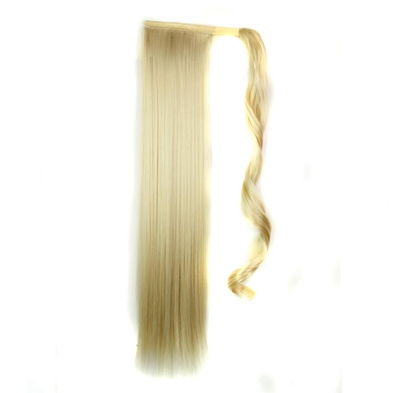Extension-De-Cheveux-Queue-De-Cheval-Postiche-Queue-SynthETique-Longue-Ligne-7V7 miniature 81