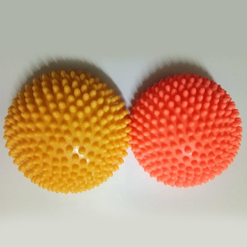 Demi-Boule-De-Yoga-Point-De-Boule-D-039-Equilibre-D-039-Exercice-D-039-Appareils-De-Fitn-4F1 miniature 5