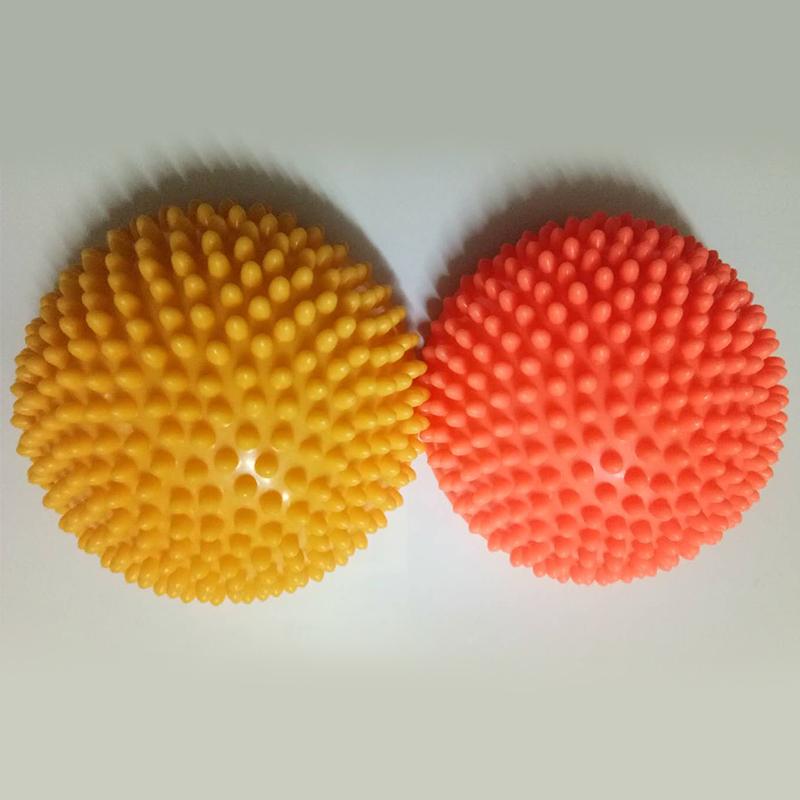 Demi-Boule-De-Yoga-Point-De-Boule-D-039-Equilibre-D-039-Exercice-D-039-Appareils-De-Fitn-4F1 miniature 9