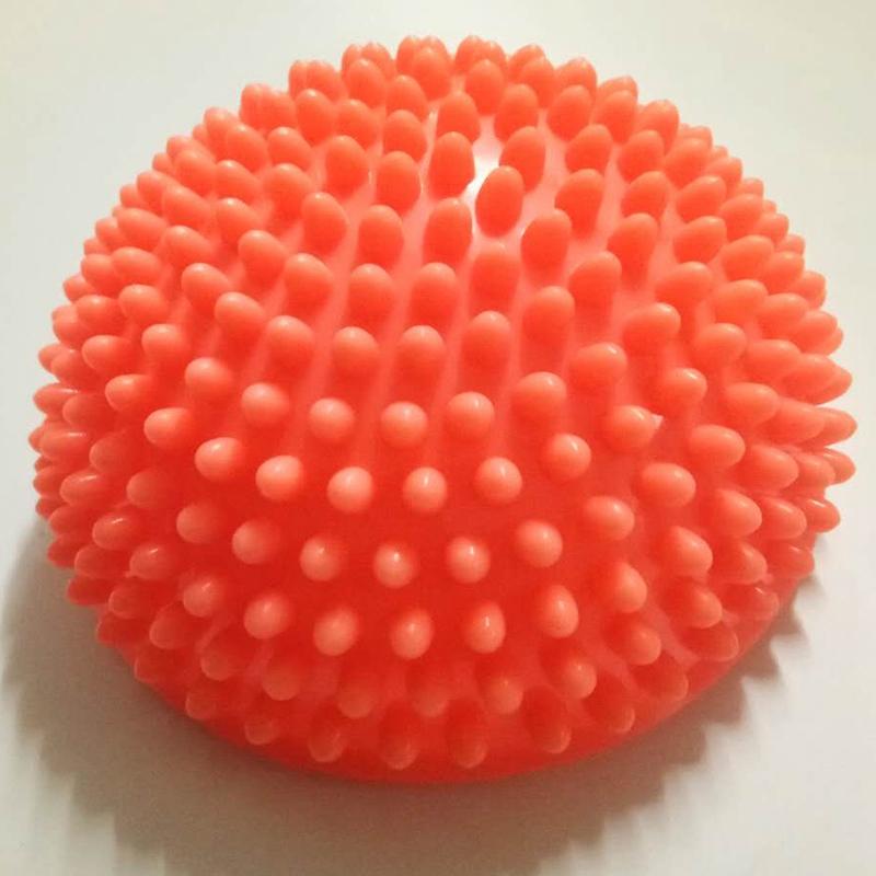 Demi-Boule-De-Yoga-Point-De-Boule-D-039-Equilibre-D-039-Exercice-D-039-Appareils-De-Fitn-4F1 miniature 10
