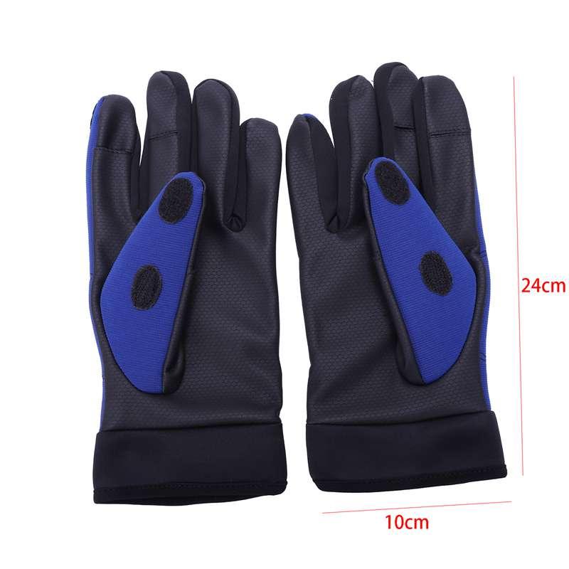 Winter-Warm-Fishing-Gloves-Cotton-3-Fingers-Cut-Waterproof-Anti-Slip-Fishing-6D5 thumbnail 4
