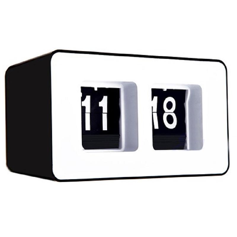 Horloge-De-Bureau-A-Retournement-Automatique-Numerique-Reveils-A-Retourneme-2X6 miniature 3