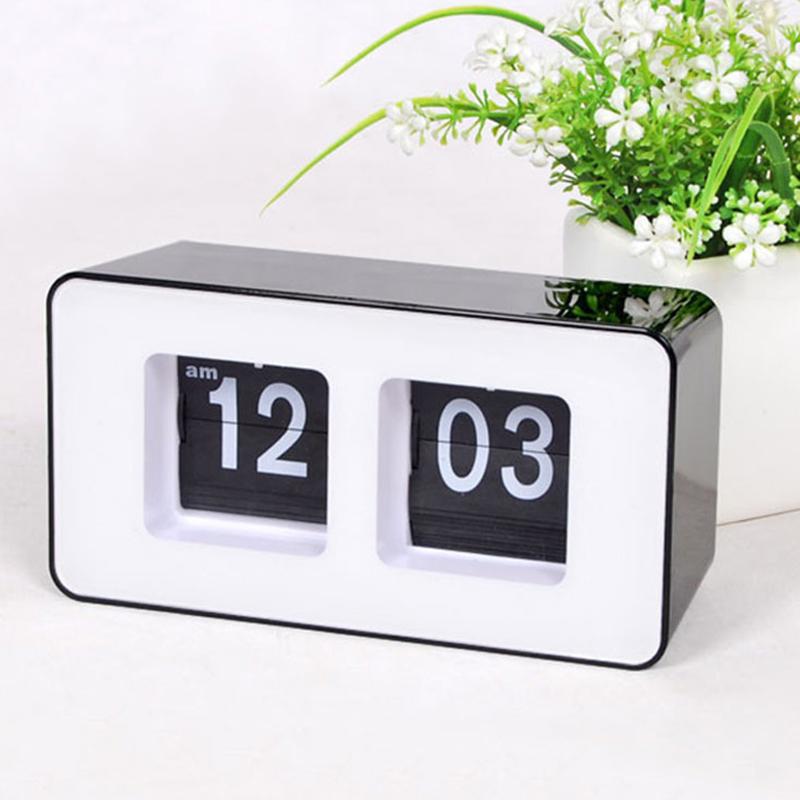 Horloge-De-Bureau-A-Retournement-Automatique-Numerique-Reveils-A-Retourneme-2X6 miniature 4